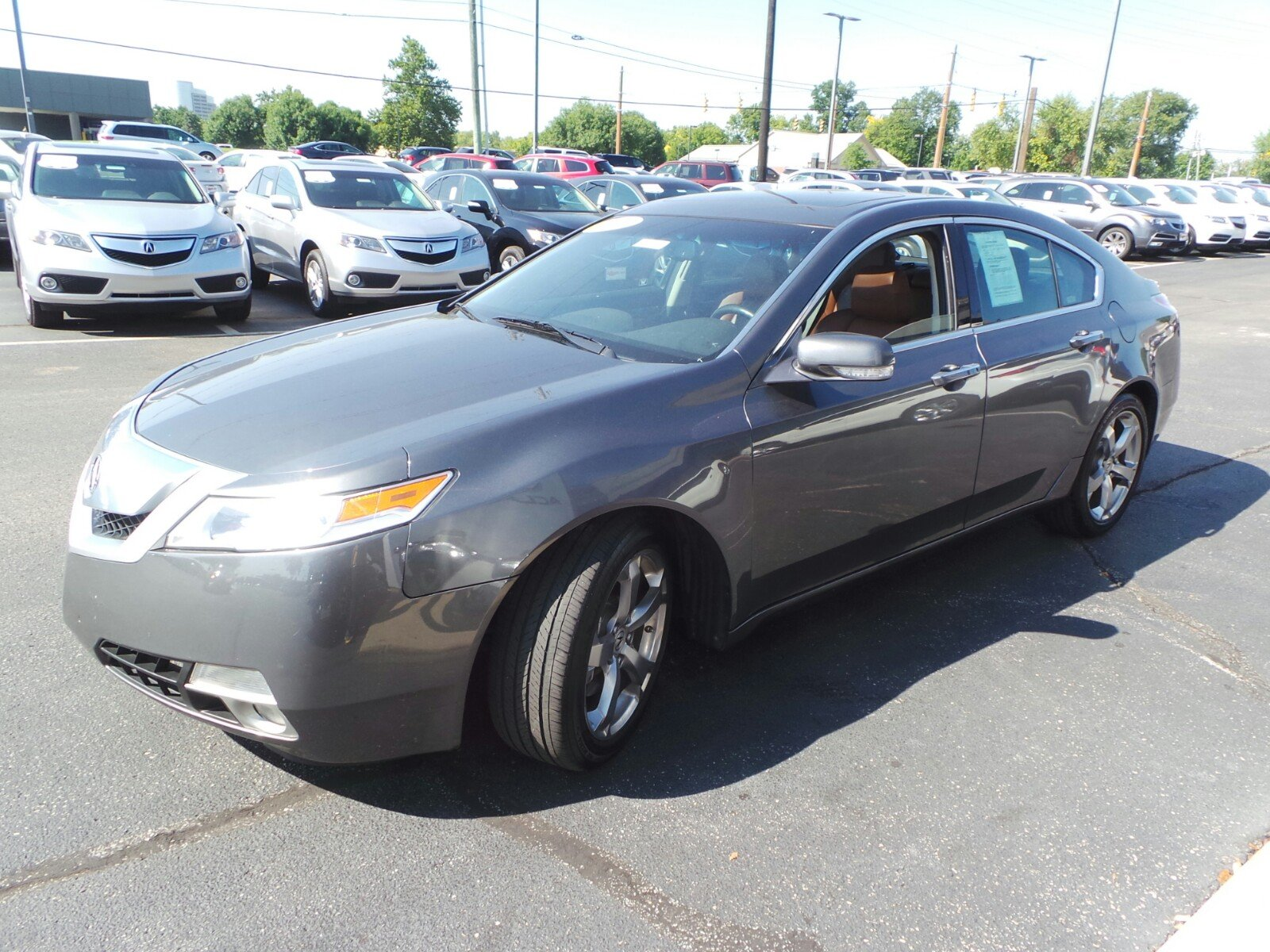 pre owned 2009 acura tl sh awd 4dr car in indianapolis 3i a