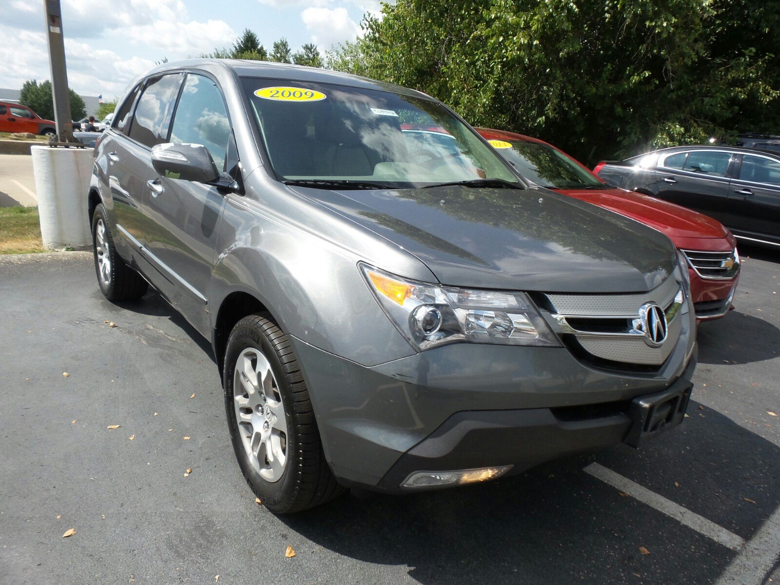pre owned 2009 acura mdx tech pkg sport utility in indianapolis